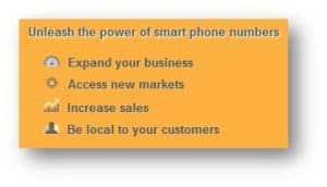 Smart Virtual Number Features