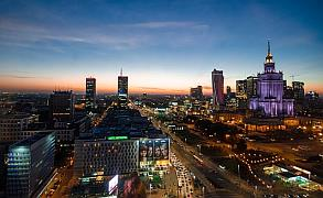 Warsaw Night Poland