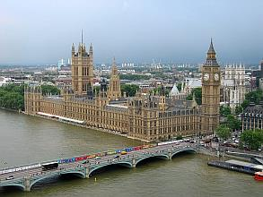London Uk Parliament Big Ben