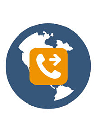 System diverts calls from your virtual number to any phone number or VoIP globally